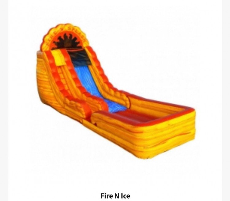 162272748 467353074709072 2051050310137530880 n 1616440183 big 18ft Fire & Ice Slide