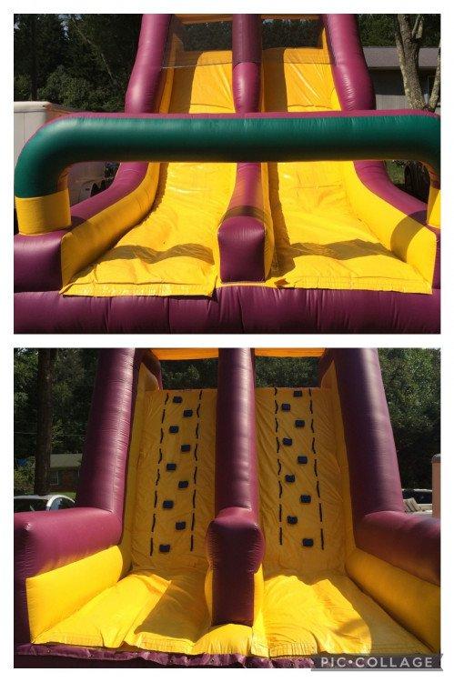 Dry slide