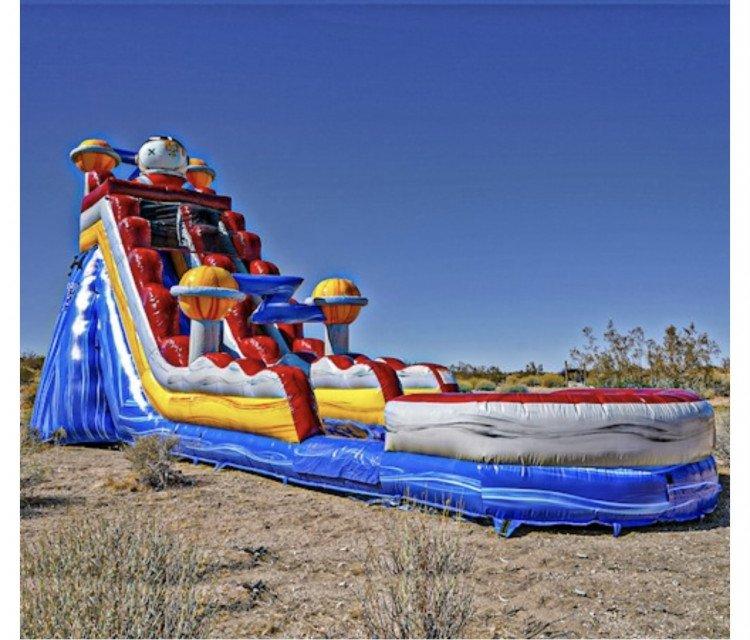 Astronaut Water Slide